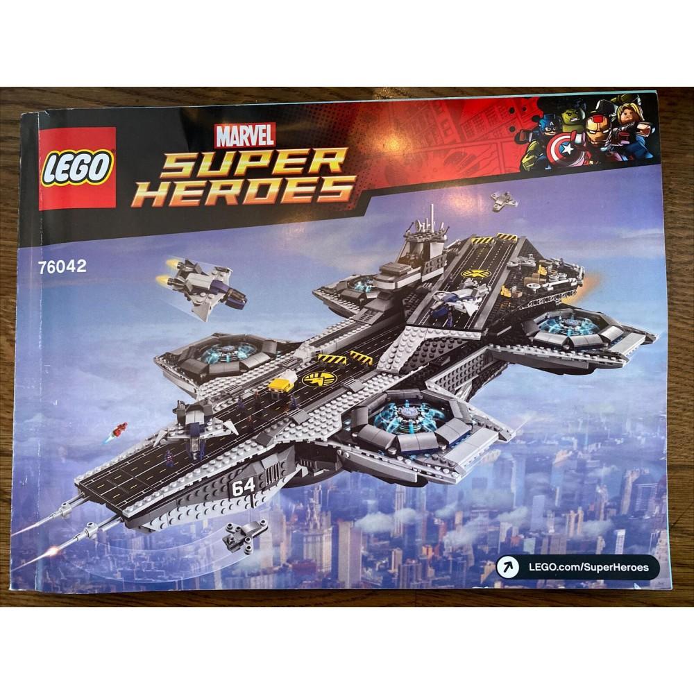 LEGO Sets & Packs : Lego Avengers Helicarrier 76042 100 ...